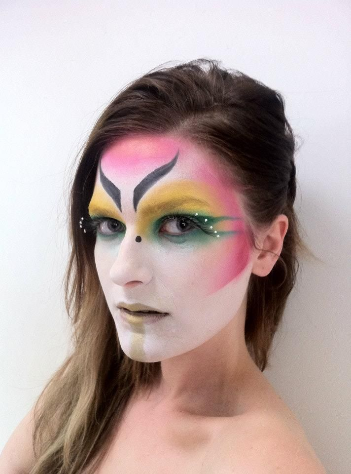 Striking Face Painting