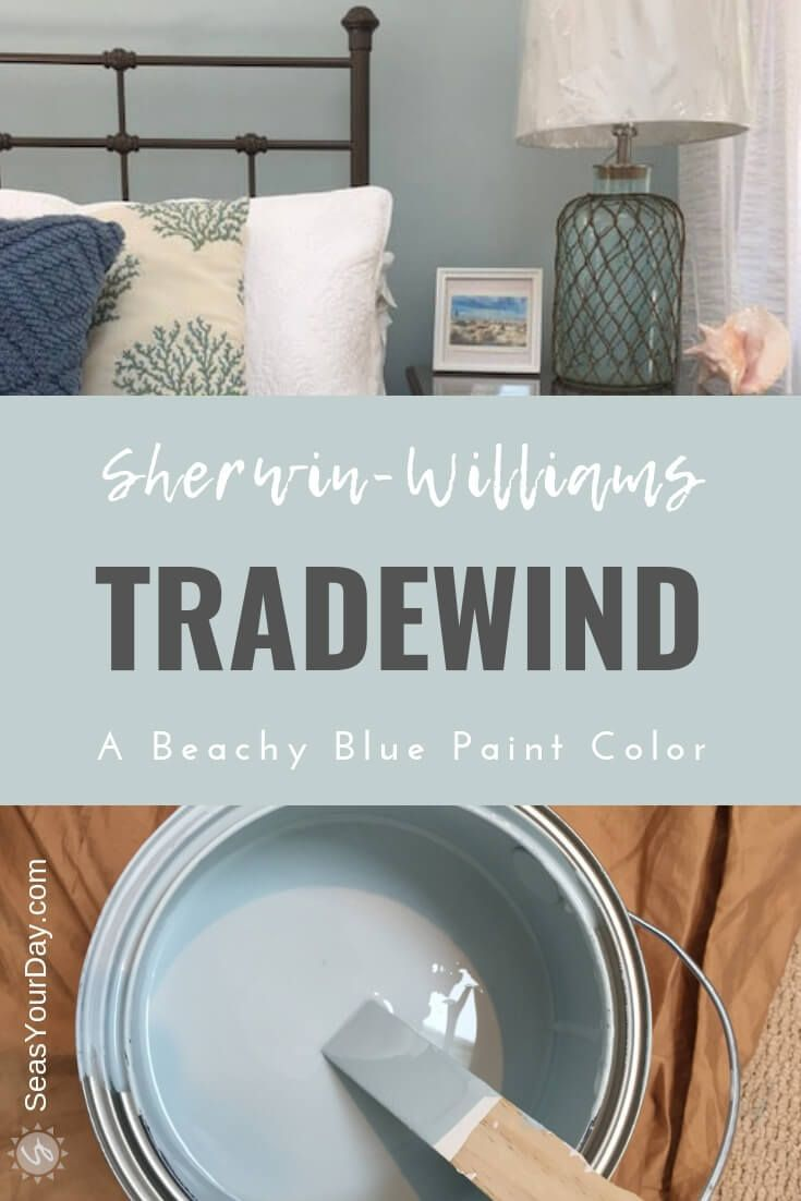 Sherwin-Williams Tradewind Paint Color - Seas Your Day