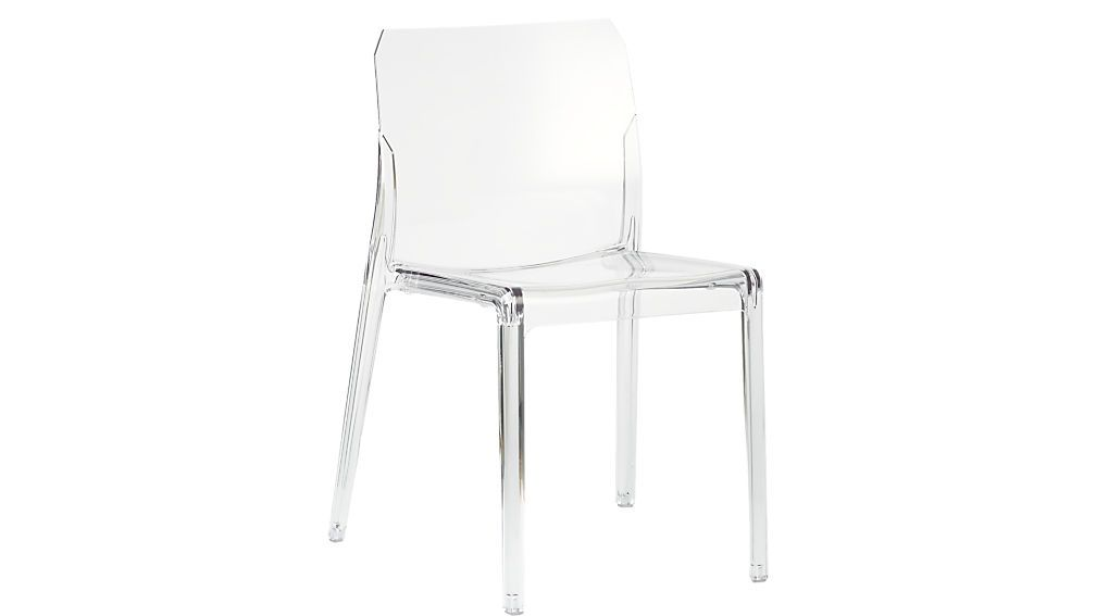 Bolla Clear Dining Chair Reviews With Images Clear Dining