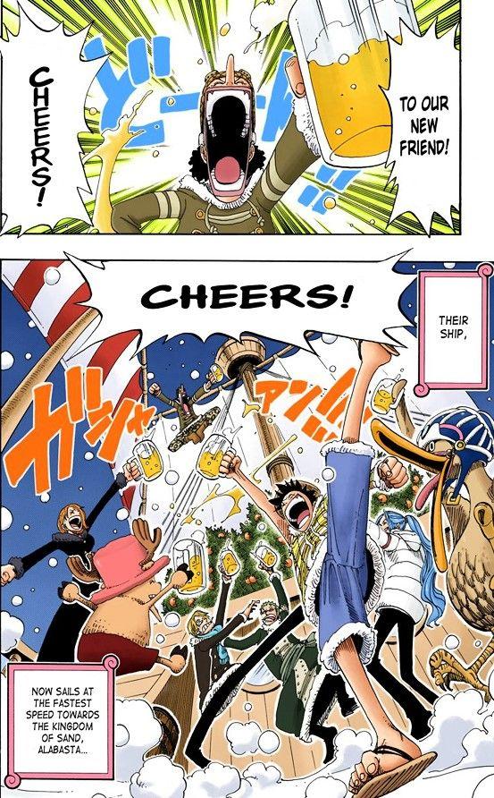 Manga Color One Piece Manga Manga Comic Book Cover