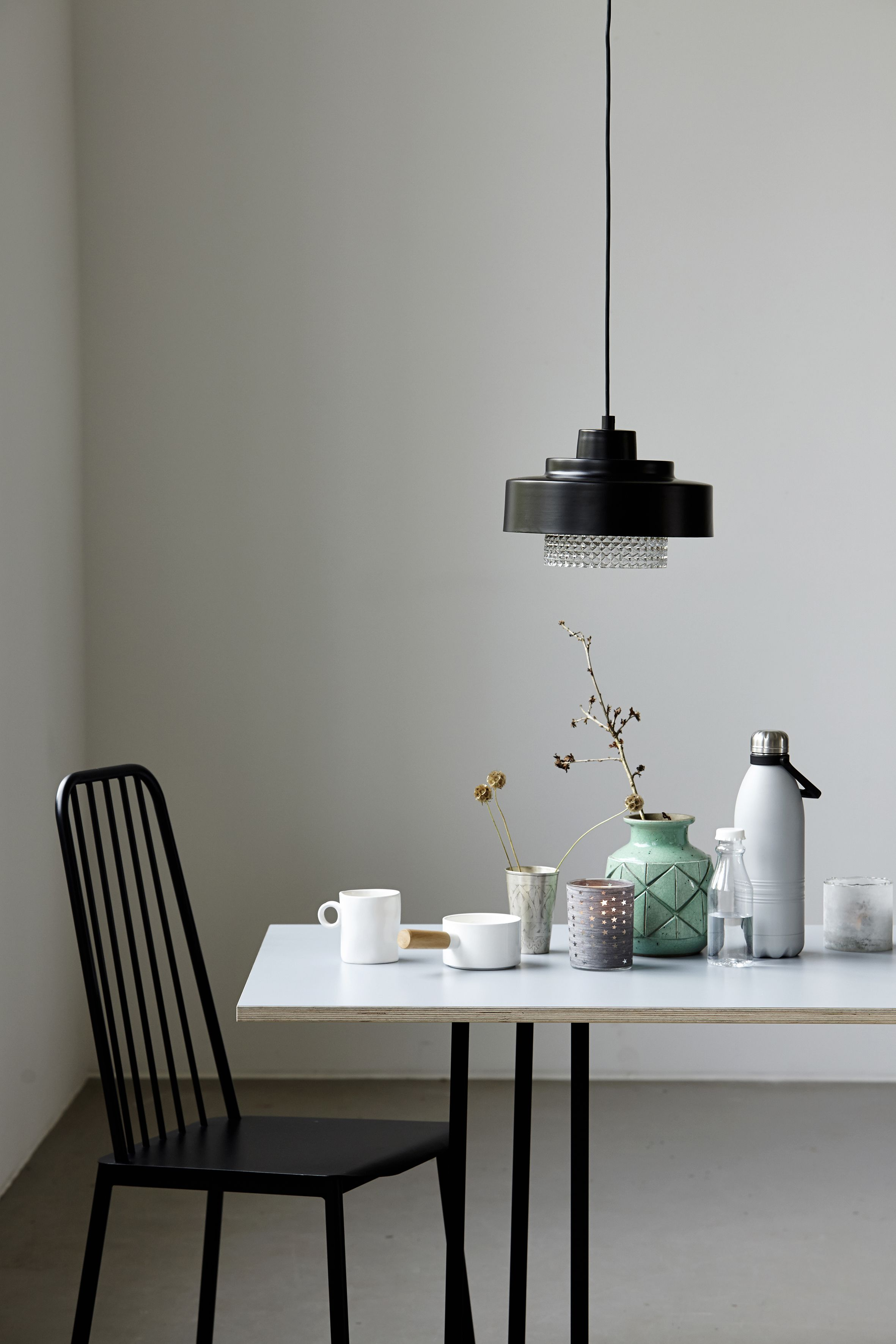 Lamp made of metal and glass from House doctor. @ wonen met LEF ...