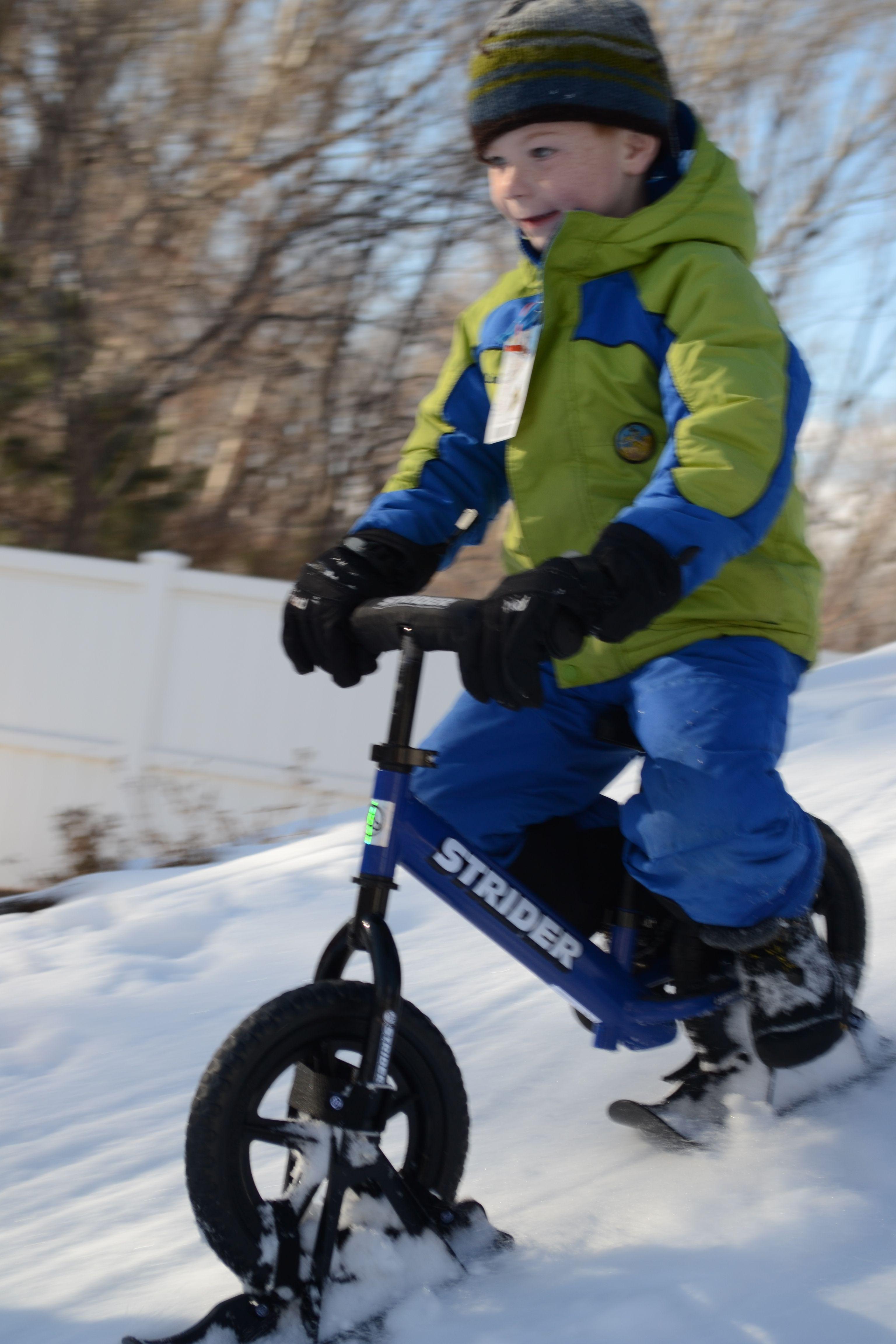 b9ceeffe2bce Snow Strider Ski Bike Attachment – The Coolest Snow Toy AROUND ...