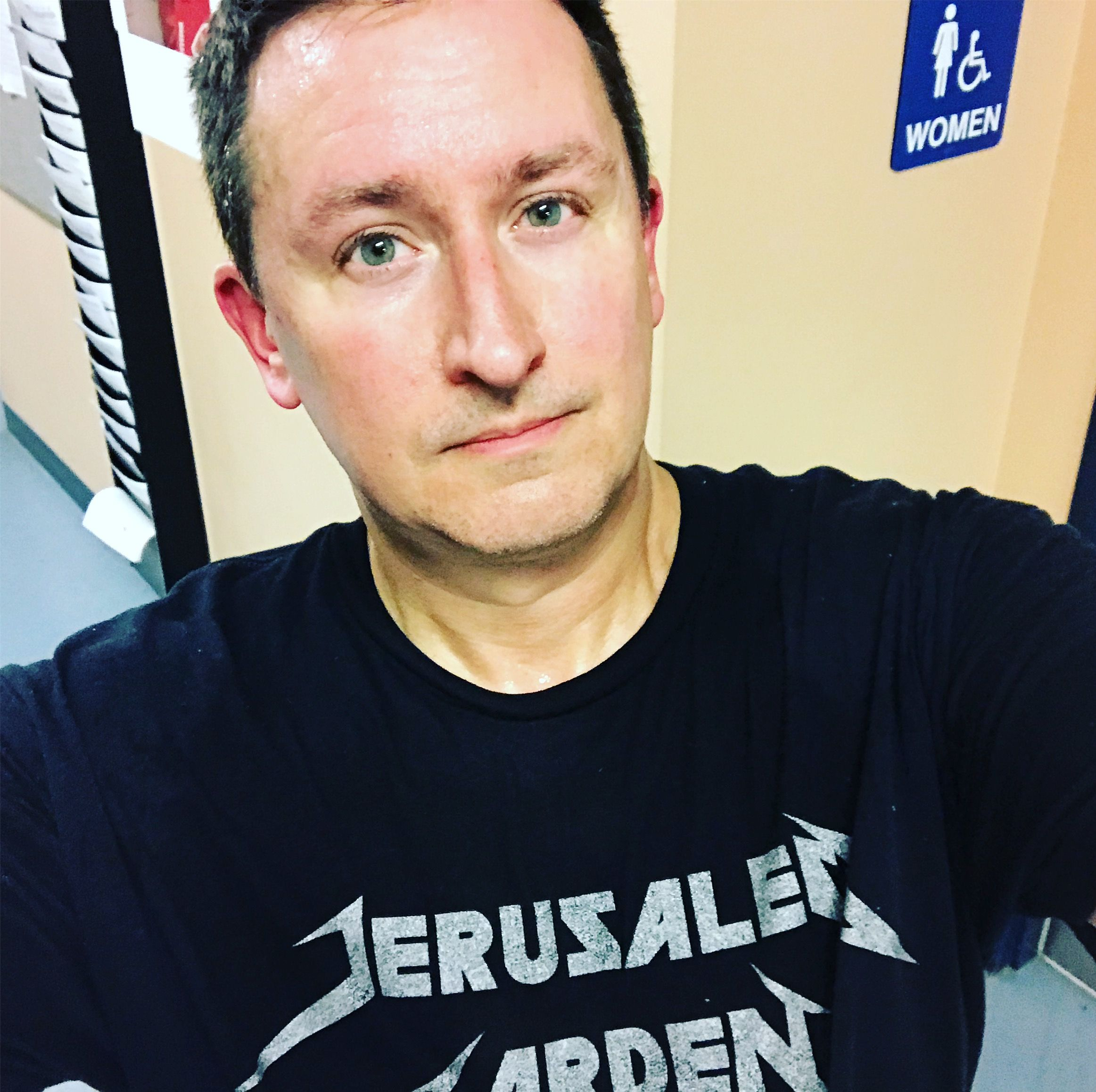 Jerusalemgarden Tee Not A Political Statement Not A Religious