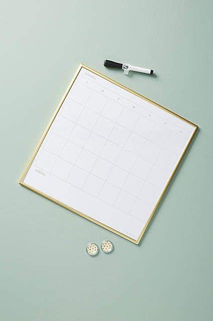 Anthropologie Maude Calendar Dry Erase Board Products Pinterest