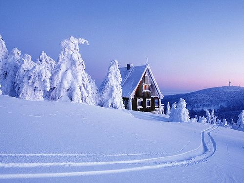 Winter Cabin Christmas Scene Log Deep Snow 419689 Winter Wonderland Wallpaper Winter Wallpaper Winter Scenery