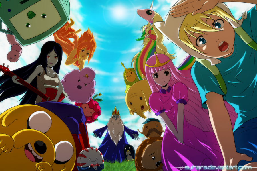 Adventure Time By Suihara D5aonts Png Adventure Time Wallpaper Adventure Time Anime Anime