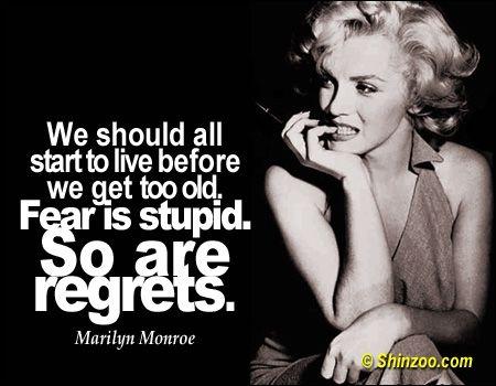 Marilyn monroe break up quotes
