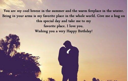 Birthday Wishes Romantic Him ~ Happy birthday quotes and images for him love and romantic happy