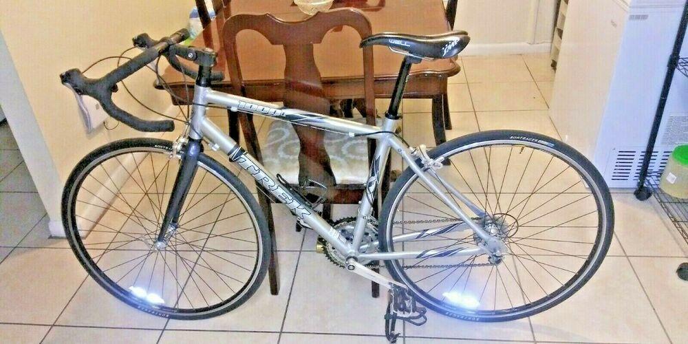 Trek 1000c Alpha Custom Aluminum Frame Carbon Fiber Fork 54cm Complete Road Bike Trek Best Road Bike Road Bike Bikes For Sale