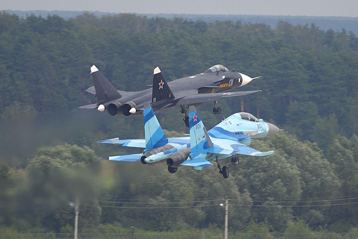 Su 37 Terminator Vs F 22