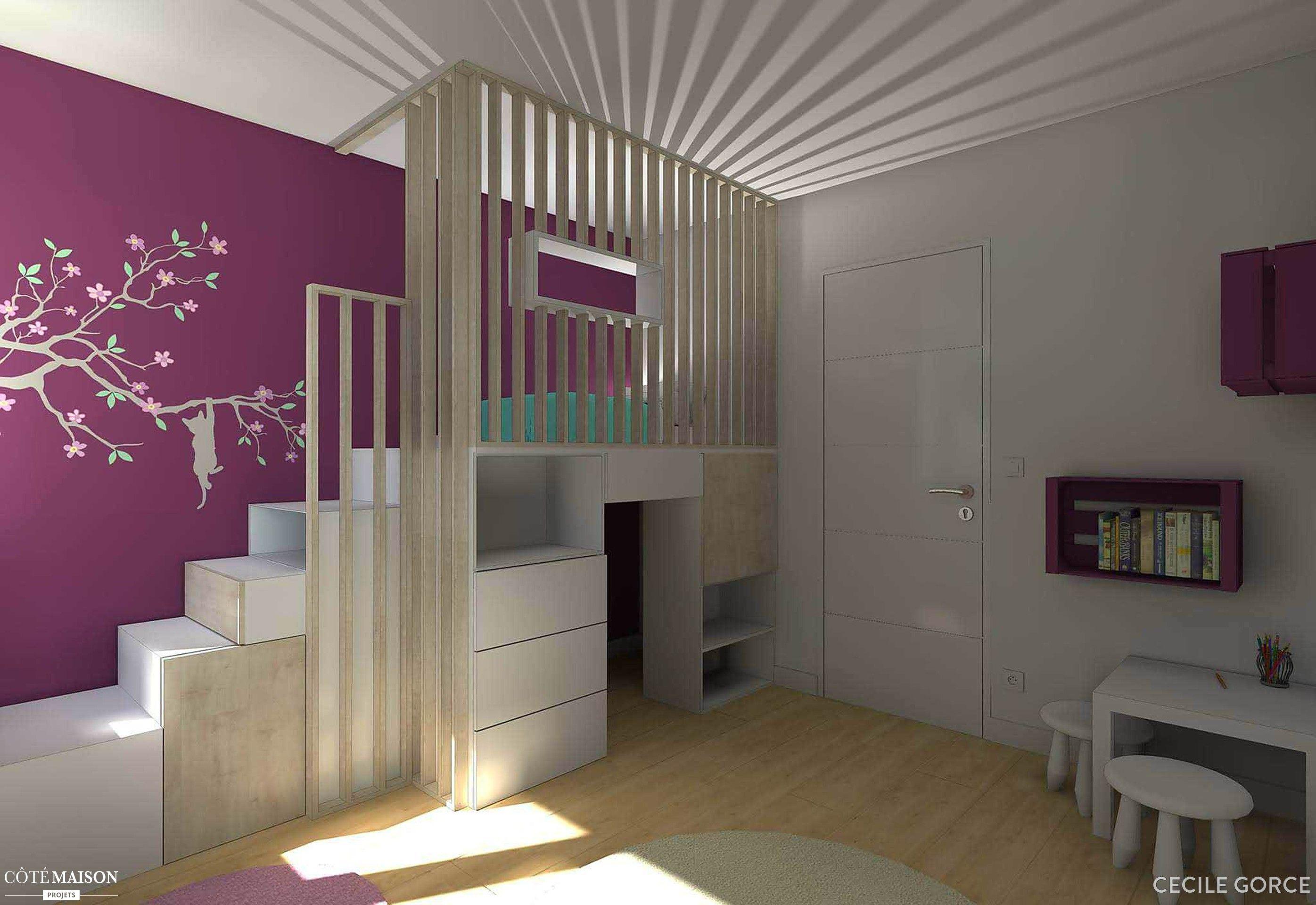 Attrayant Chambre Du0027enfant, Tours, Cécile Gorce   Architecte Du0027intérieur Conception Etonnante