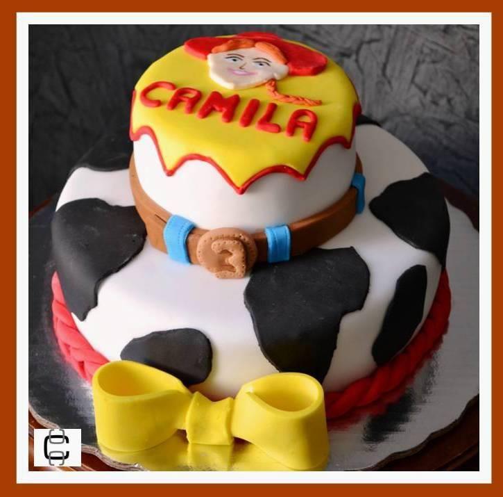 Toy Story Jessie Fondant Cake Pastel De Jessie La Vaquerita De Toy