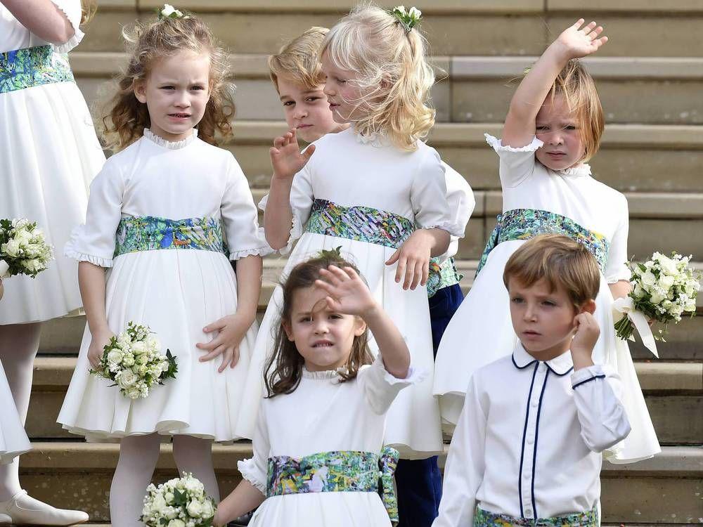 Royal Wedding Niedliches Debut Fur Robbie Williams Tochter Teddy Trend Magazin Prinzessin Eugenie Robbie Williams Tochter