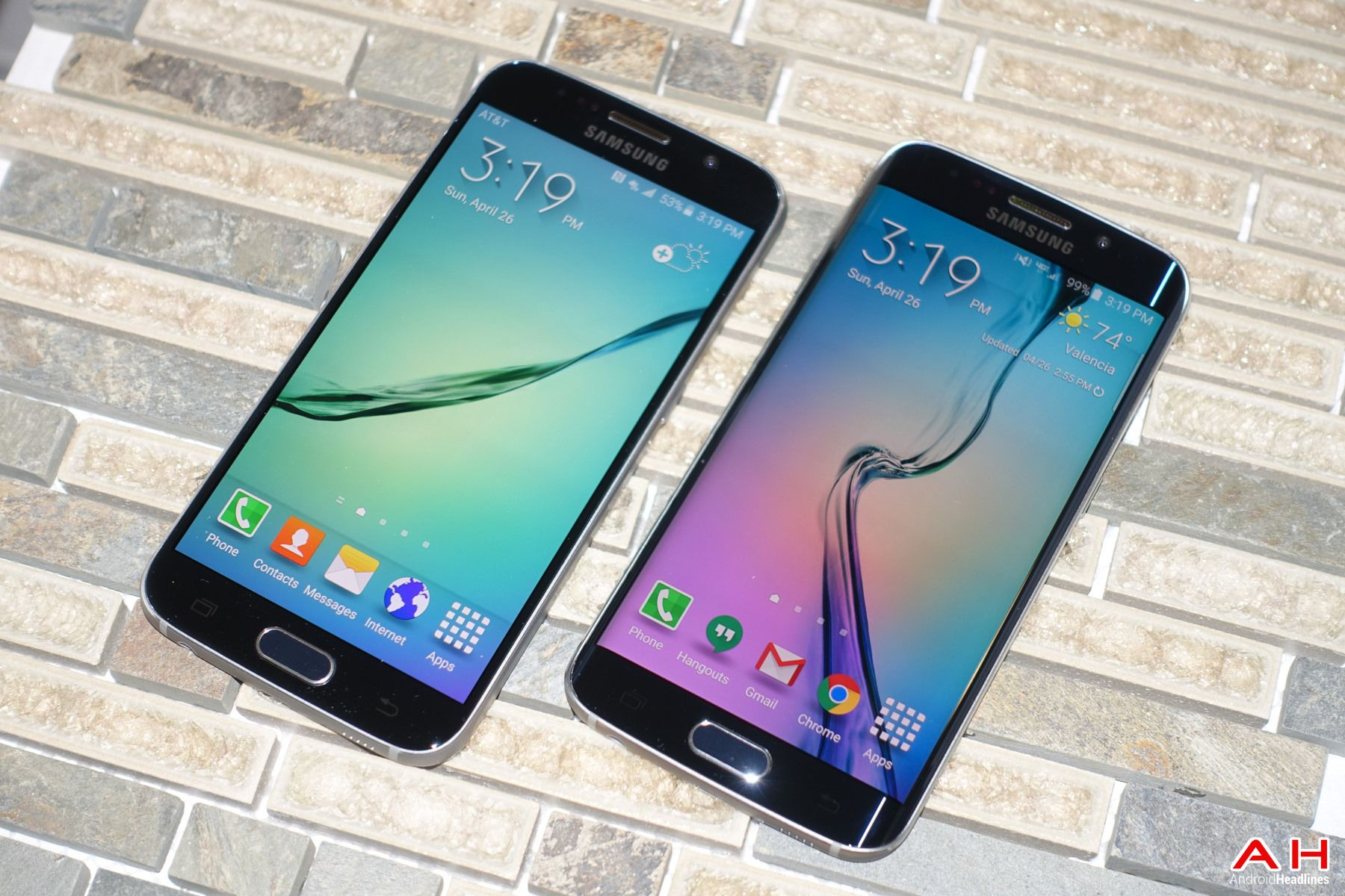 samsung highlights six generations of the galaxy s wallpaper