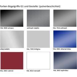 Photo of Tischgestell Pendo Rondo 2 Säulen 80 cm Auswahl Farbe Option…