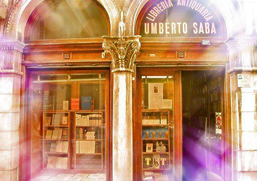 La libreria antiquaria di UMBERTO SABA a Trieste