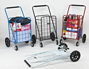 Big Bruno Swivel Folding Cart Folding Shopping Cart Folding Cart Cart