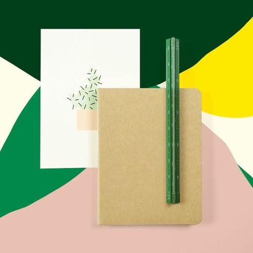 #greetingcard #notebook #lineal #stationary #papeterie #papierwaren #schreibwaren (at sous-bois)