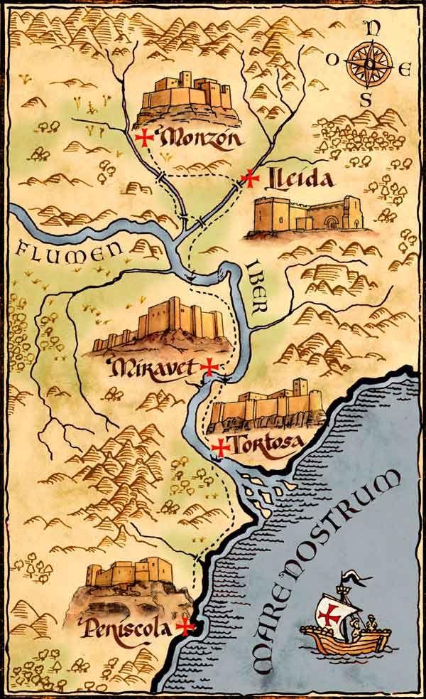 Ruta Templaria De Monzon A Peniscola Espana Templarios