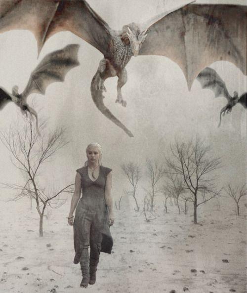 Daenerys + Drogon