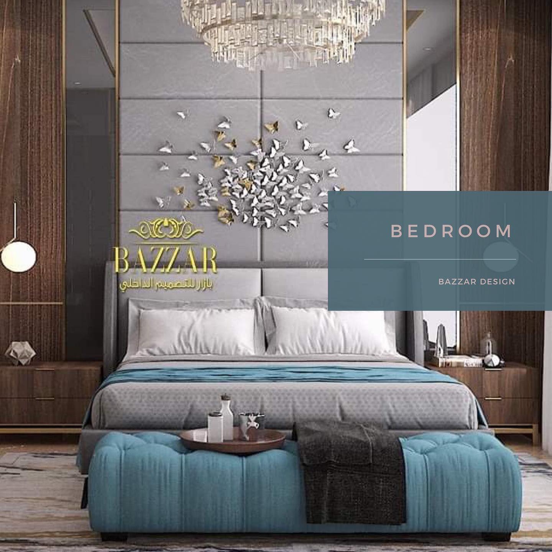 تصميم غرف نوم تصميم داخلي مصمم غرف نوم نيوكلاسيك بالخبر الوان مودرن مهندس تصميم غرف نوم بالدمام ديكورات مودرن بازار Interior Design Home Decor Furniture