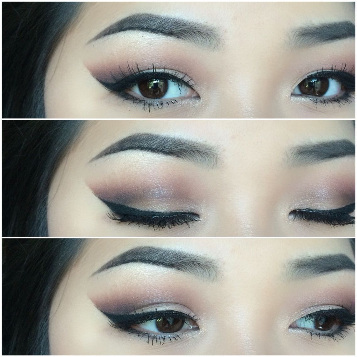 Makeup for Asian eyes. Follow me on my personal Instagram