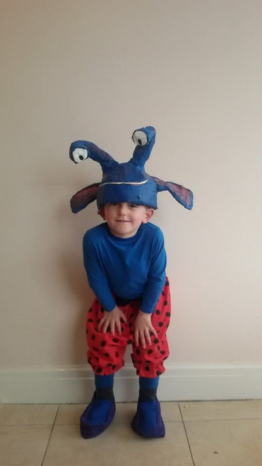 World Book Day costume. Aliens Love Underpants. Papier mache headgear.  sc 1 st  Pinterest & World Book Day costume. Aliens Love Underpants. Papier mache ...