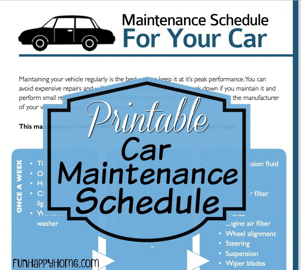 The Importance Of Car Maintenance Schedules And A