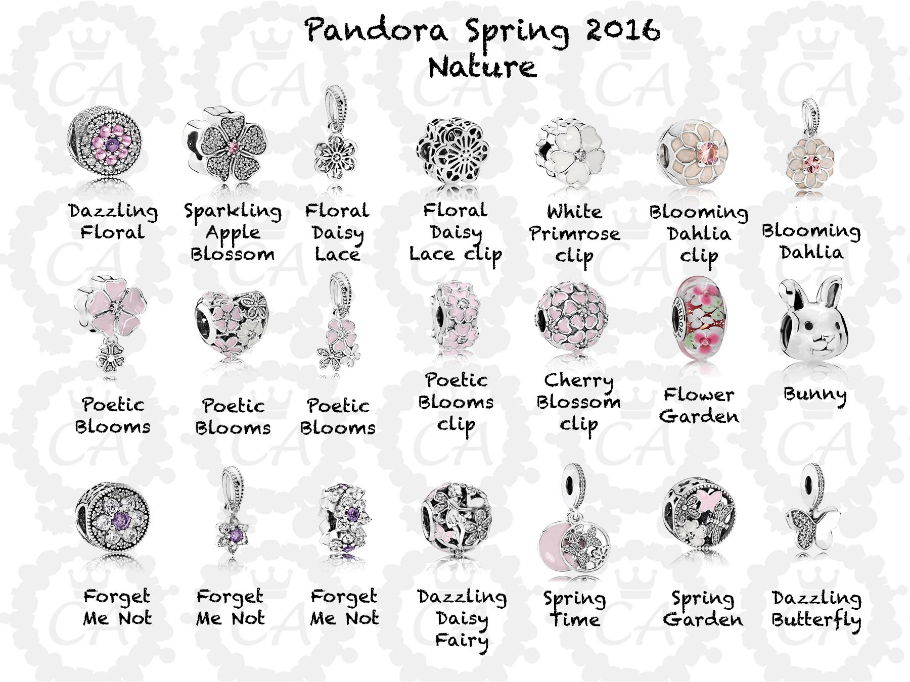 New Spring Pandora Charms 2016 Pandora Charms Online New