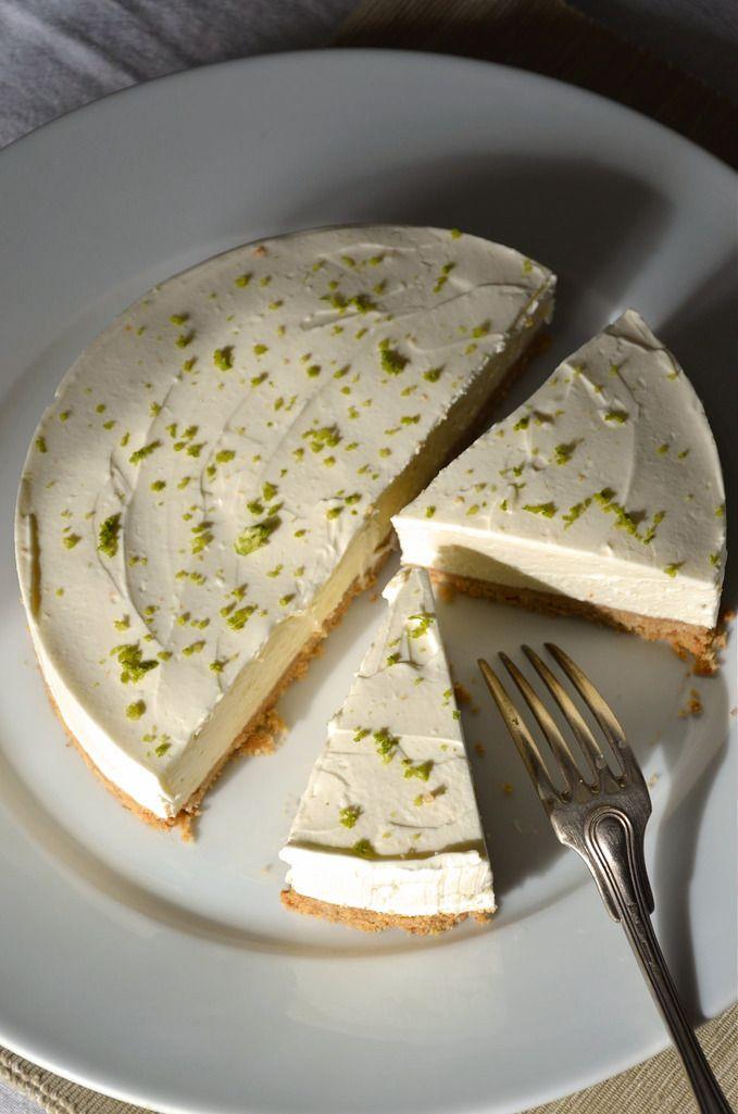 cheesecake au citron vert sans cuisson recette l. Black Bedroom Furniture Sets. Home Design Ideas