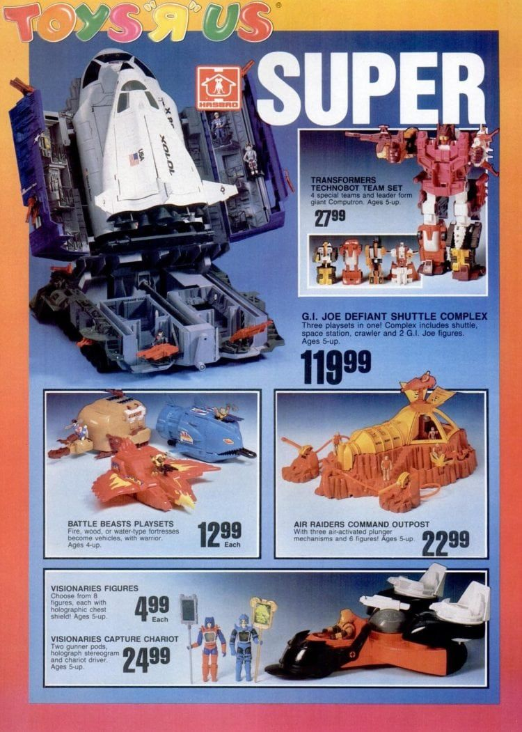 Vintage GI Joe 1987 Catalog