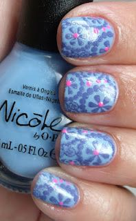 dots and flowery