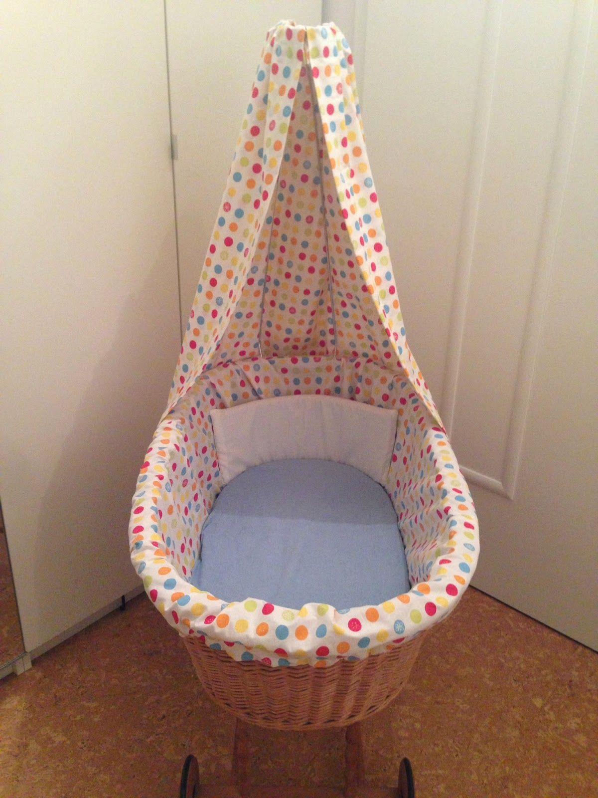 nestchen und himmel f r stubenwagen n hen baby. Black Bedroom Furniture Sets. Home Design Ideas