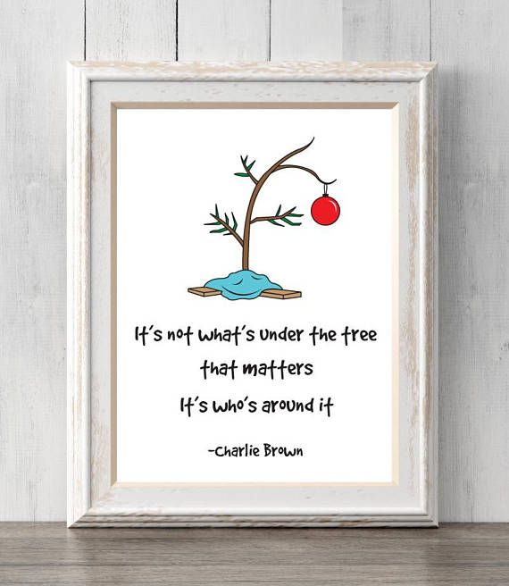 Charlie Brown Christmas Tree Quote.I Love Charlie Brown S Christmas So Much And This Is Such A