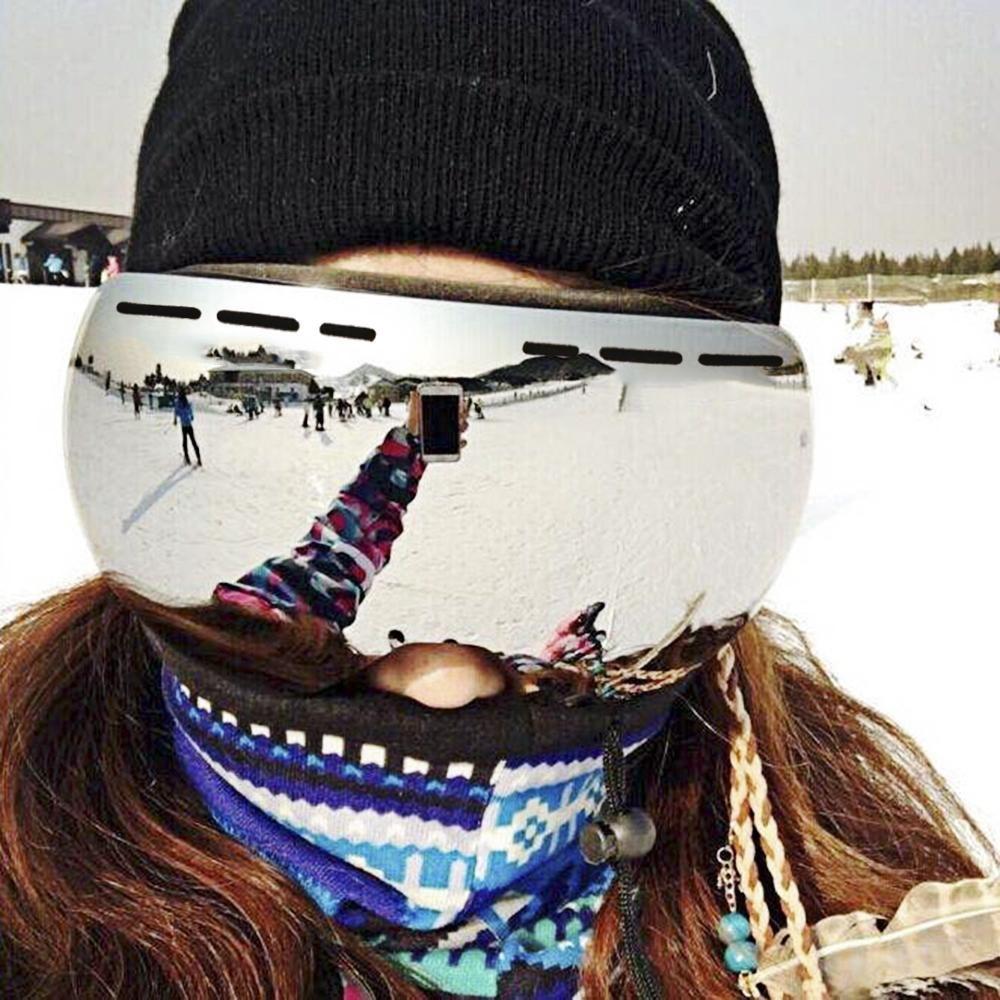 UV400 antifog Ski Mask Snowboard goggles, Ski goggles