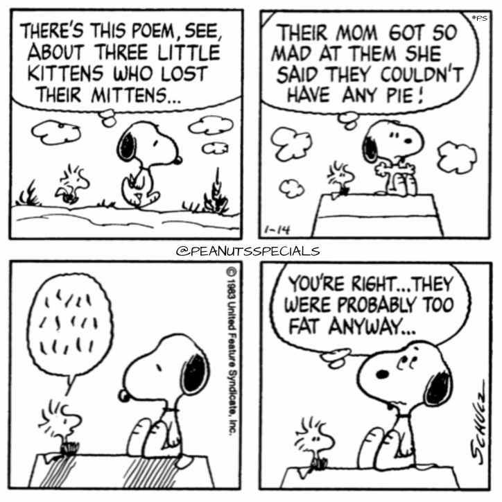 First Appearance January 14th 1983 Peanutsspecials Ps Pnts