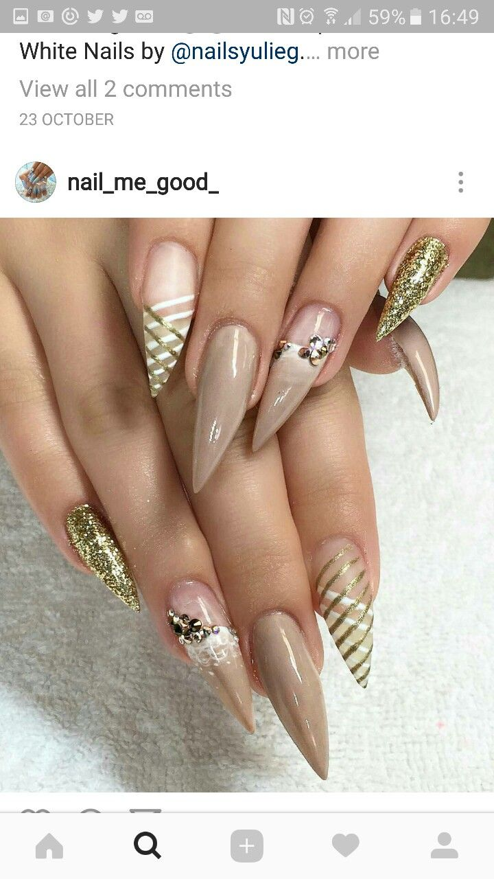 Pin by Justice Sipes on nails | Pinterest | Crazy nail art, Crazy ...