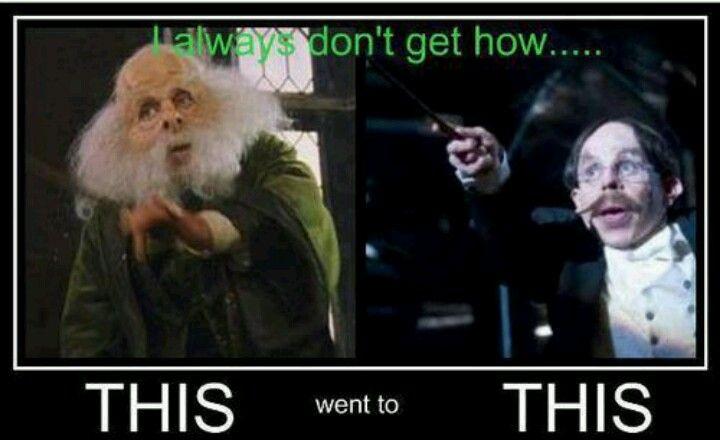 Professor Flitwick Got A Face Lift Harry Potter Obsession Harry Potter Flitwick