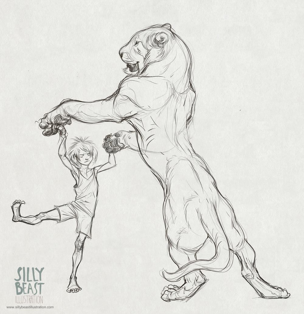 Sketchbook - Silly Beast Illustration | Random | Pinterest ...