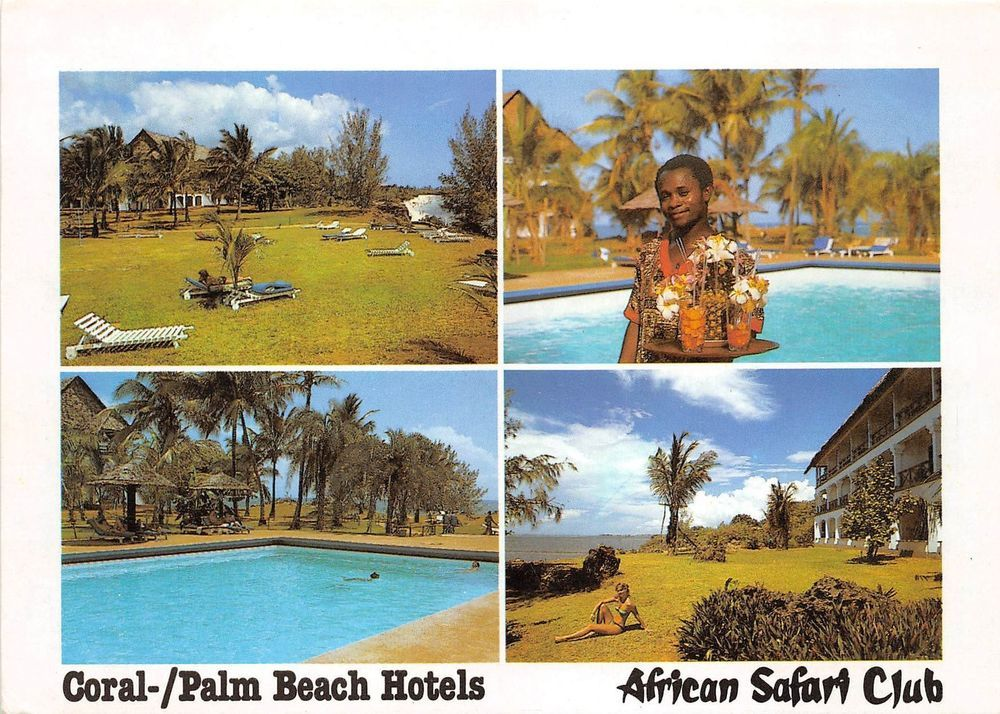 Bg21195 Types Folklore Coral Palm Beach Hotel African Safari Club