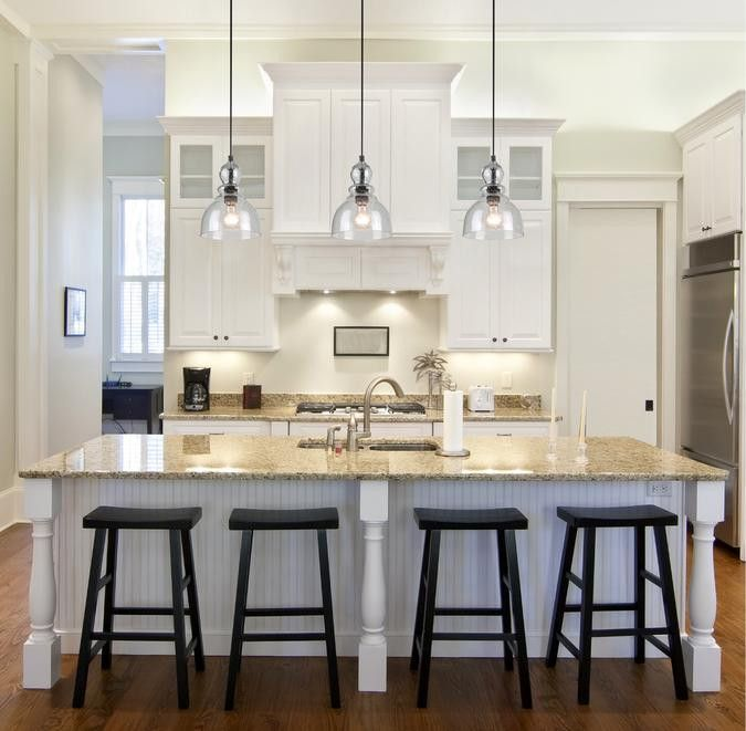 Hanging Kitchen Lights Over Island: One-Light Adjustable Mini Pendant