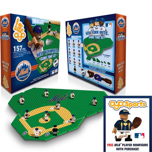 New York Mets OYO Collectible Mini Figure Game Time Set