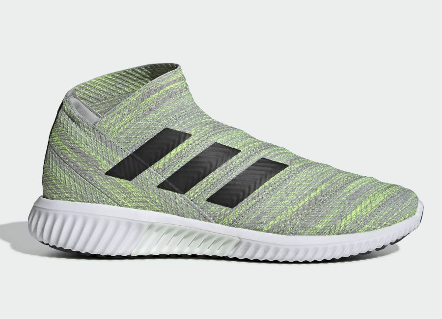 buy popular e0cc9 979aa Adidas Nemeziz Tango 18.1 Trainers - Grey Two  Core Black  Solar Yellow  adidasfootball