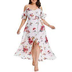 a0eeab8ae983e Leewos 2018 New! Summer Plus Size Dresses