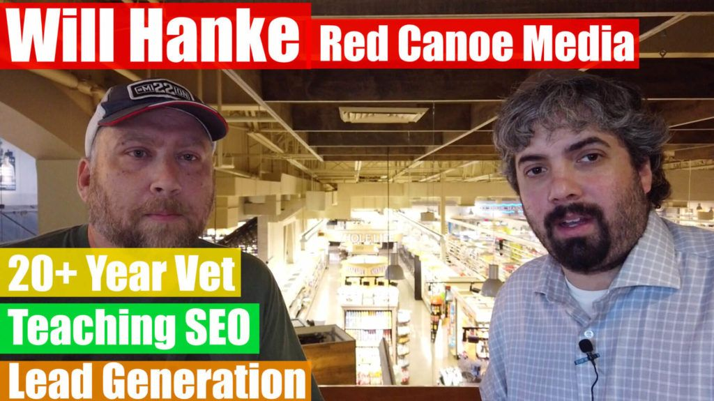 Video Will Hanke on teaching SEO and lead generation