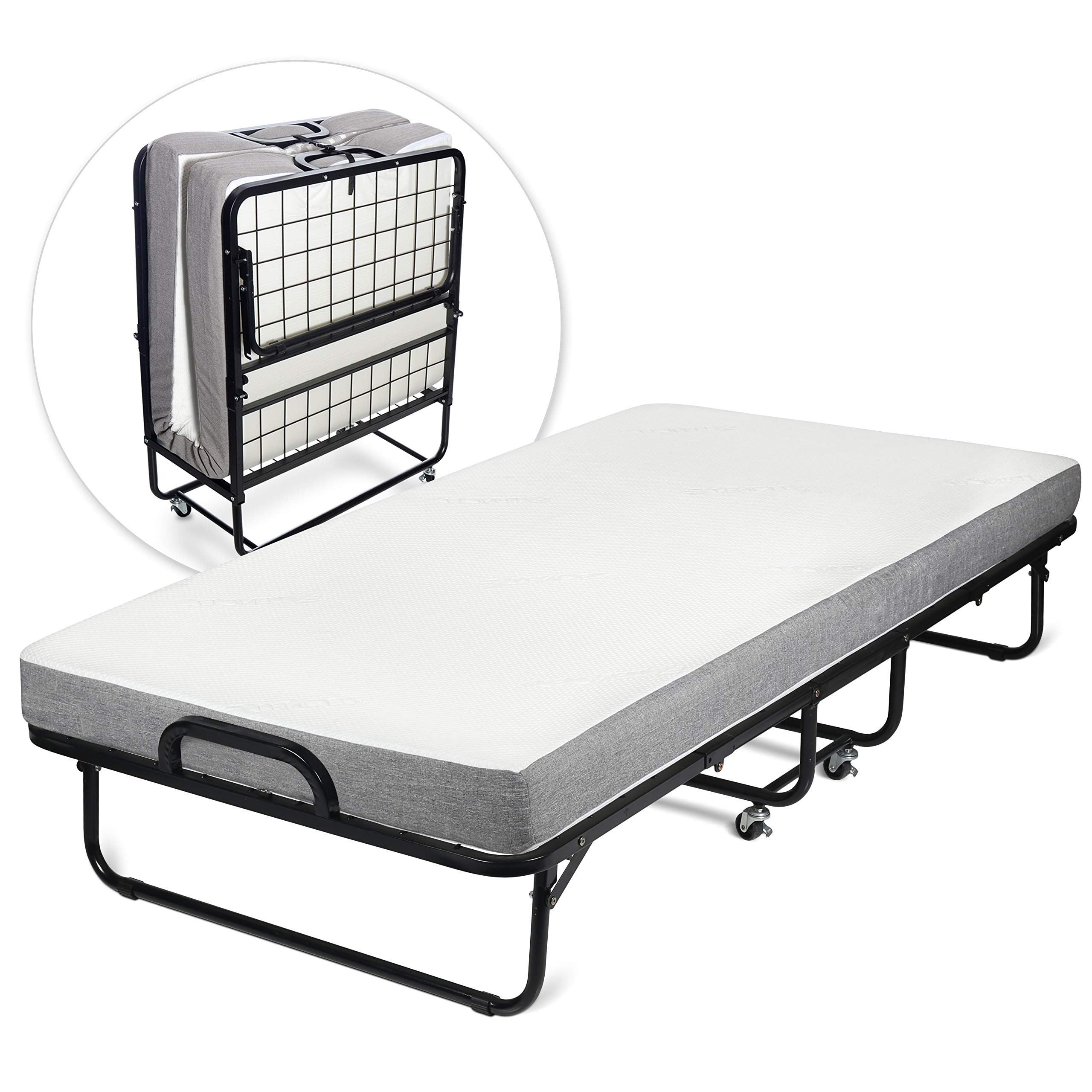 - Milliard Diplomat Folding Bed – Twin Size - With Luxurious Memory