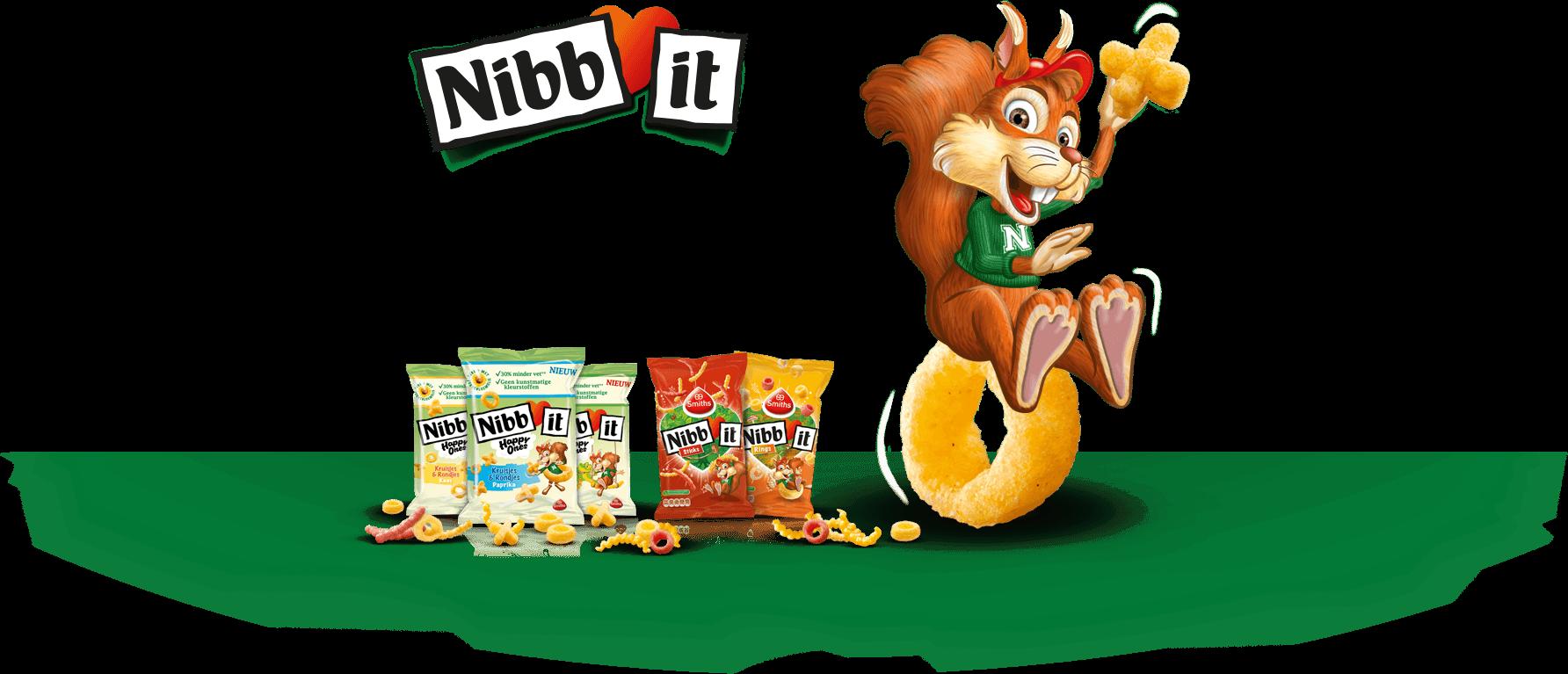 Hier vind je alles over de vrolijke zoutjes van Nibb-it, waar iedereen dol op is. De zoutjes zijn er in allerlei kleurige en speelse variaties. Zo zijn er de bekende Nibb-it Rings & Sticks, maar hebben we sinds kort ook Nibb-it Happy Ones! Ontdek wat je allemaal met Nibb-it kunt beleven, zoals onze Nibb-it Ga-er-op-uit! …