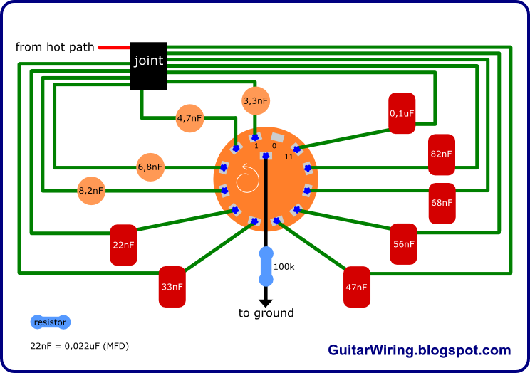 The Guitar Wiring Blog diagrams and tips Varitone Project 12 – Ibanez Guitar Pickup Switch Wiring Diagram