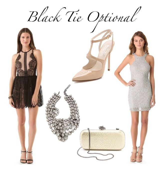 What to wear to Black Tie Optional | {Shmorgasboards} | Pinterest