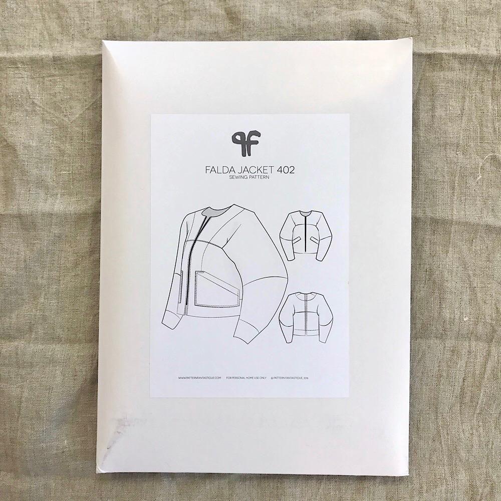 Falda Jacket Pattern By Pattern Fantastique Pattern Paper